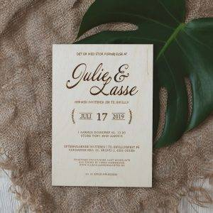 Invitationer & save the date