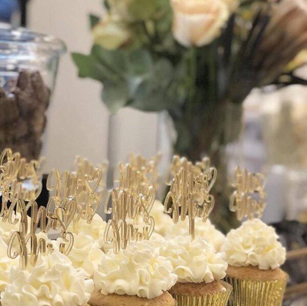 CreativeWood Caketoppe kage bryllup