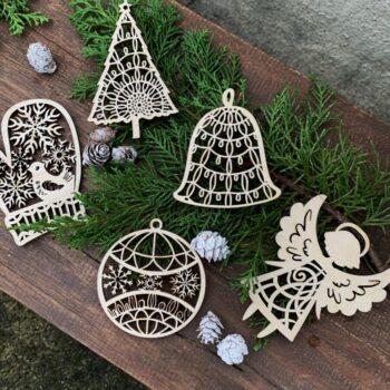 julepynt i træ