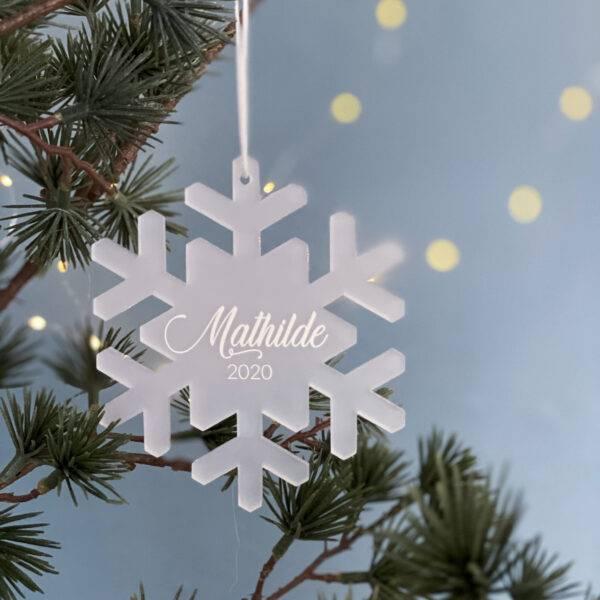 snefnug juleophæng frosted