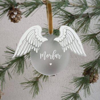 julekugle med vinger