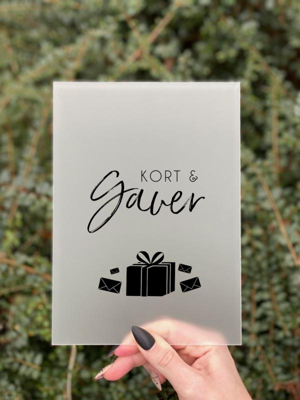 simplicity kort og gaver skilt dreng konfirmation