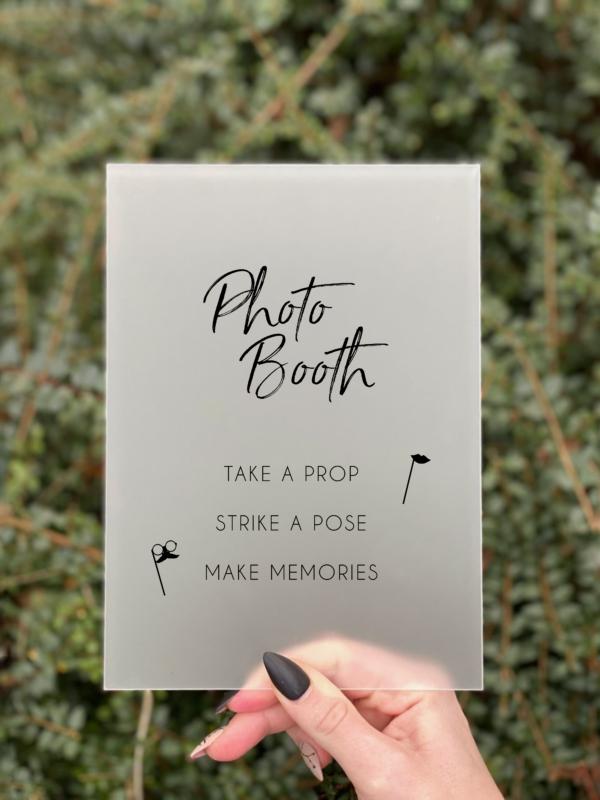 simplicity photobooth skilt dreng konfirmation