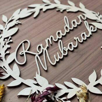 Ramadan mubarak træring til hjemmet