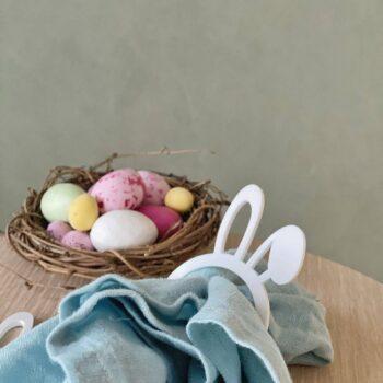 Servietring påske kaninører
