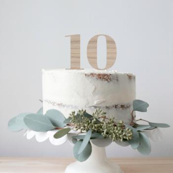 tal til kagen 10 år fødselsdag