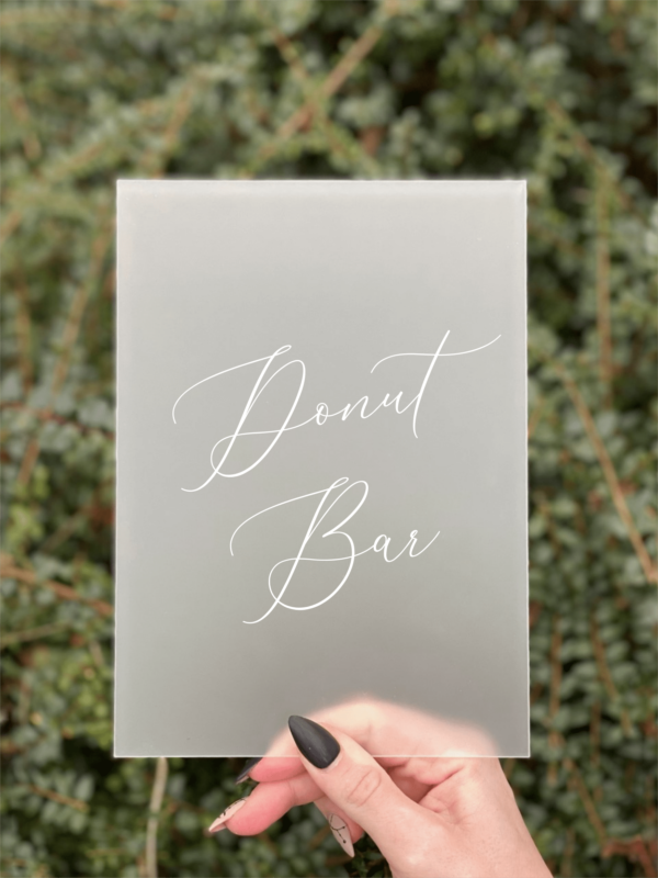 donut bar standard design 2