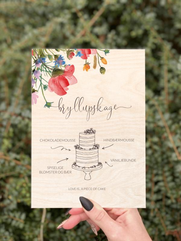 kagesilt wild flower design 1 birketræ bryllup